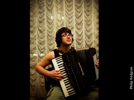 Zdravko on the accordion