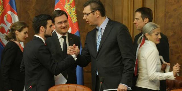 Lazar Krstic, Aleksandar Vucic
