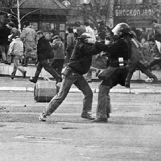 9 mart, Beograd. Foto: Politika
